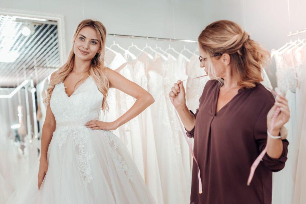 Suknia ślubna na miarę