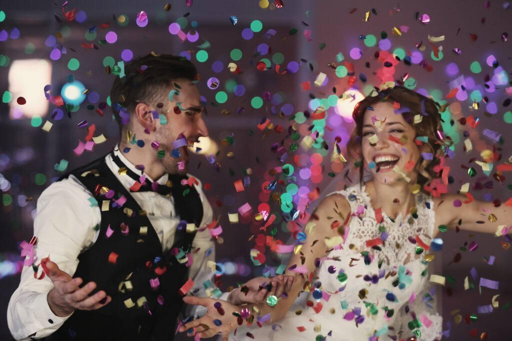 Zabawy weselne dla pary młodej