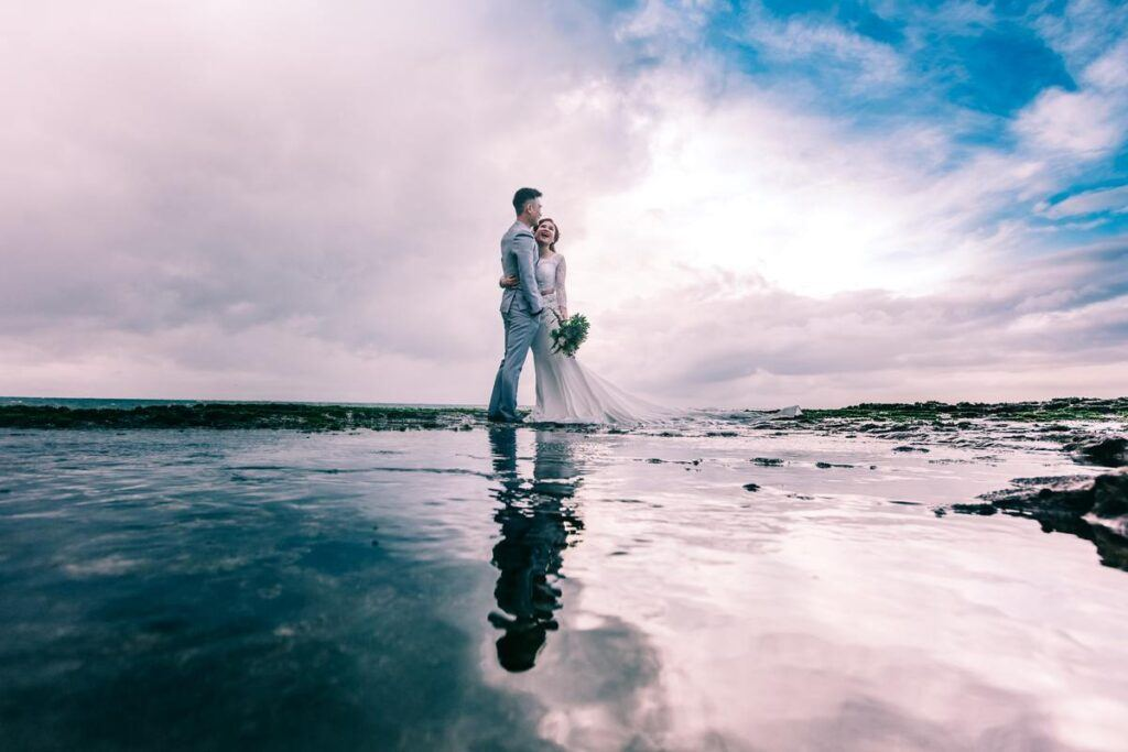 Sesja ślubna z pomysłem