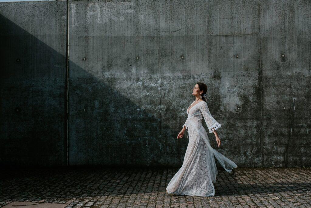 Suknia ślubna w stylu boho – wywiad z Martą Trojanowską