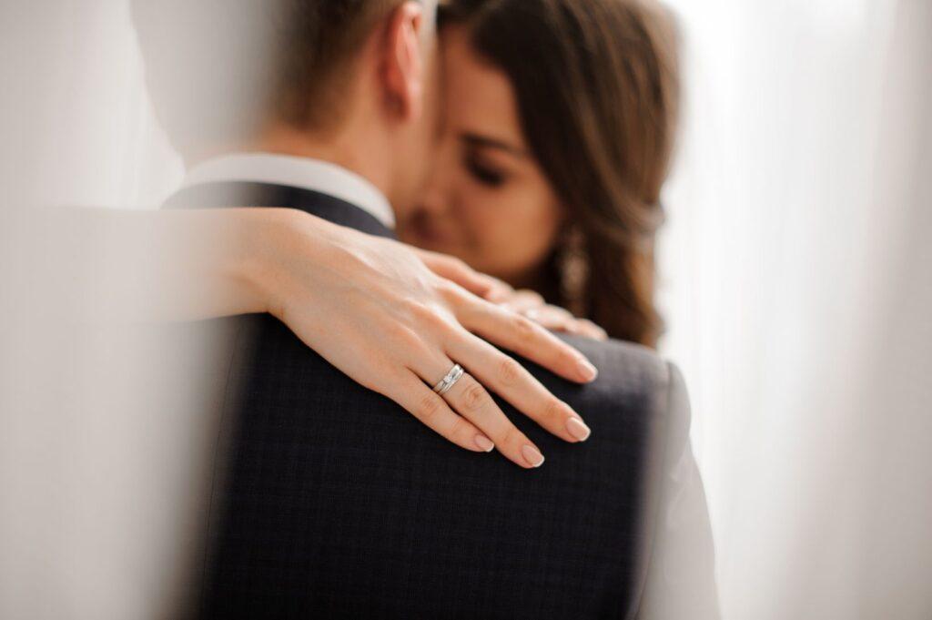 Zapowiedzi przedślubne para młoda