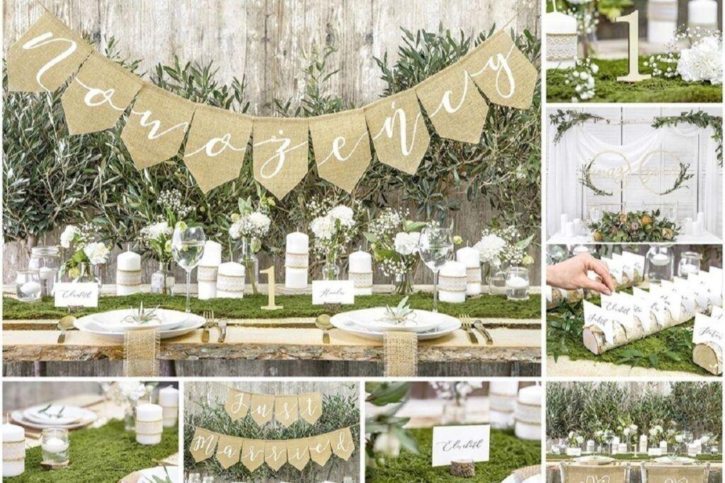 Przygotowania do ślubu na własną rękę – nic prostszego! Najmodniejsze dekoracje DIY!