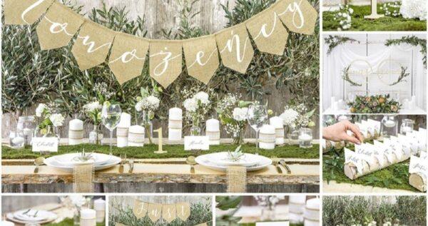 Przygotowania do ślubu na własną rękę - nic prostszego! Najmodniejsze dekoracje DIY!