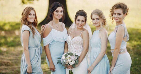 Druhny na ślubie - modne rozwiązanie z Ameryki, które możesz wykorzystać na swoim ślubie!