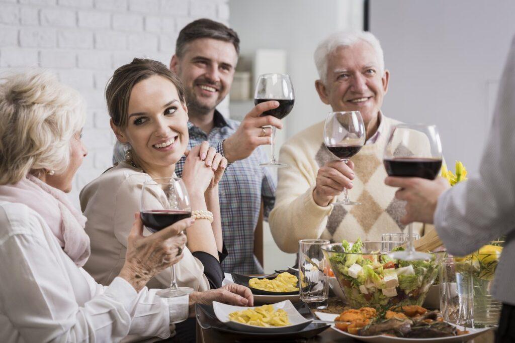 kolacja zapoznawcza rodziców