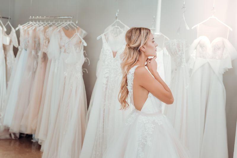 organizer ślubny wybór sukni ślubnej