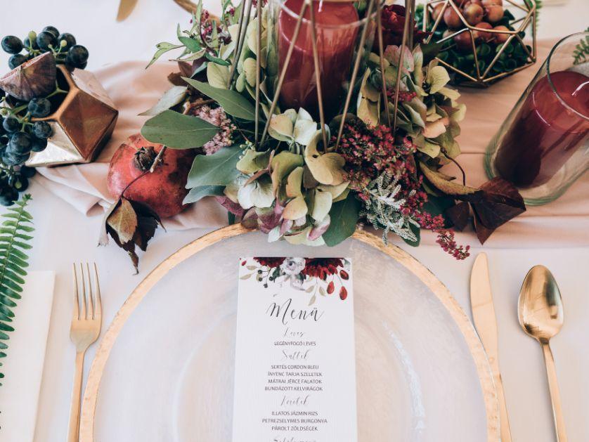 plan stołów weselnych boho