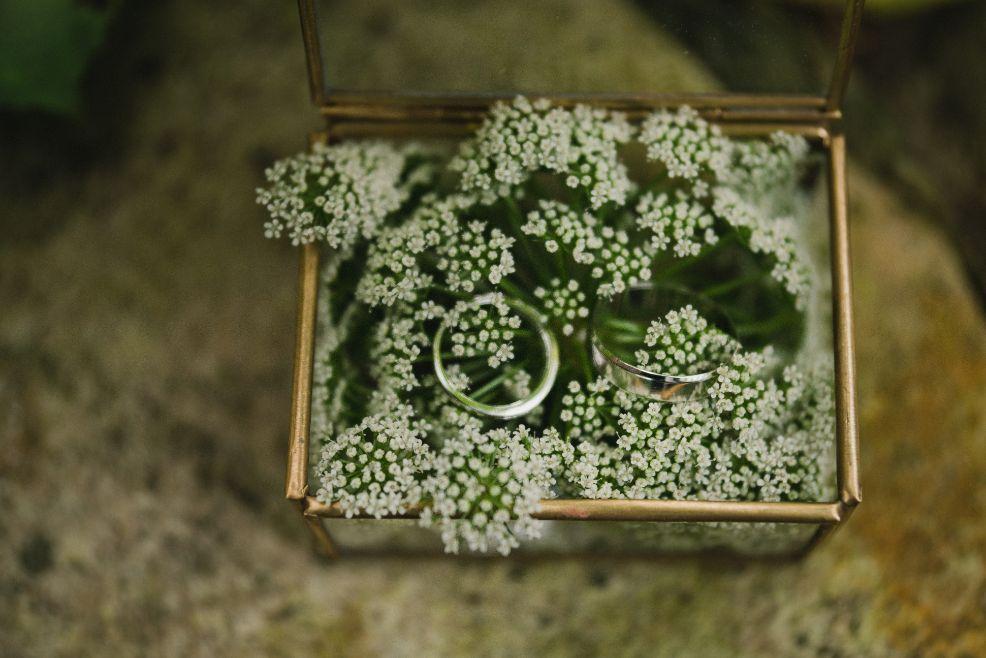 Pudełko na biżuterię w stylu rustykalnym