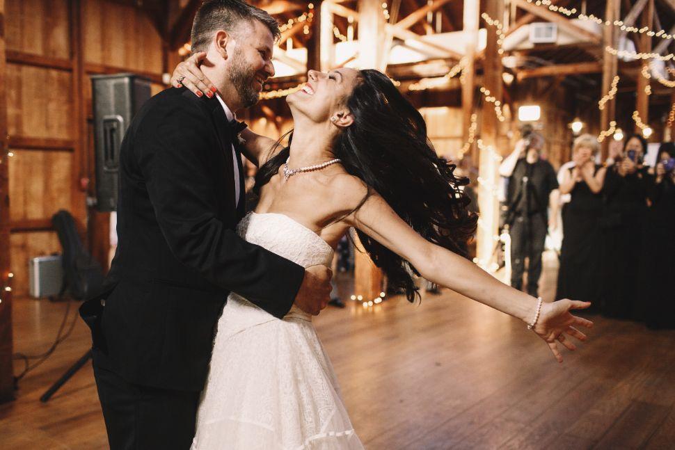 Slow wedding. Pierwszy taniec pary młodej.